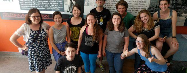 CCCT Drama Camp counselors