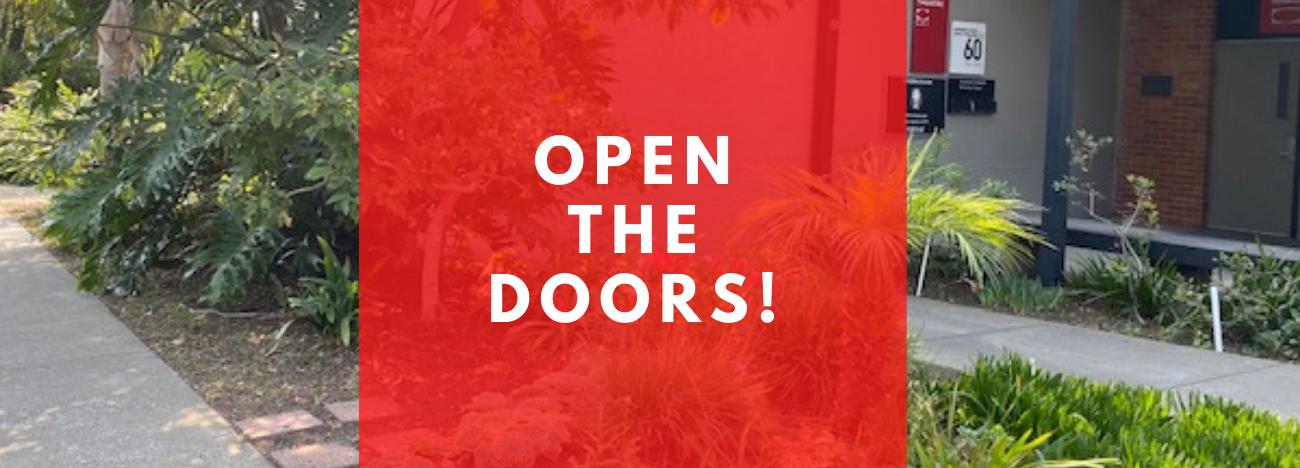 Homepage slider_Open The Doors campaign