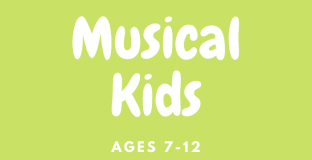 Musical Kids for ages 7 to 12